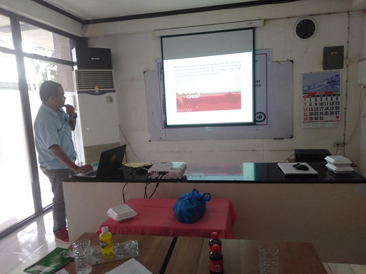 EMERGENCY PREPAREDNESS AND RESPONSE TRAINING CONDUCTED BY